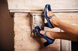 Sapato Feminino Azul 1
