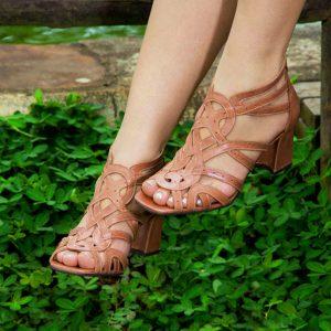 sandália-feminina-nude-de-salto
